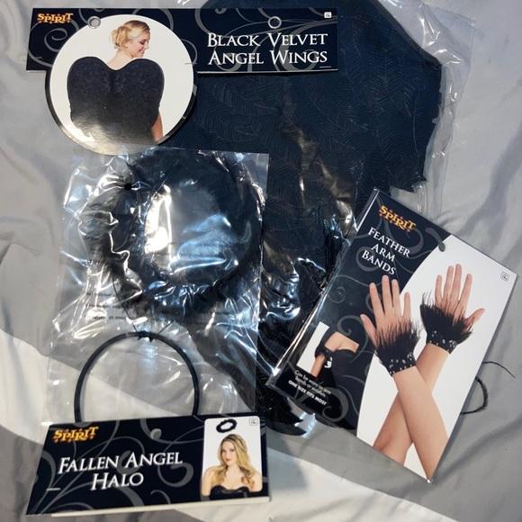 Fallen angel / Dark angel costume set